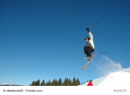 Fotolia Stockfoto: Skisport