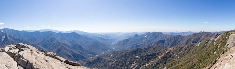 Moro Rock Panoramafoto